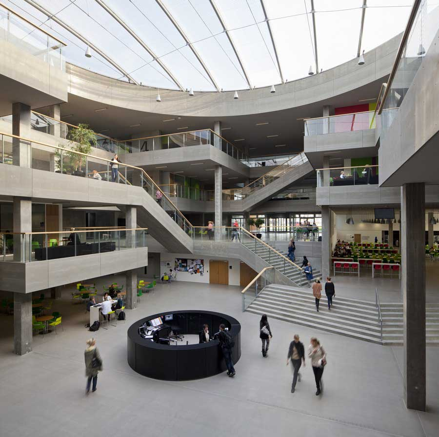 Campus aarhus n via university college e architect for Via design architects
