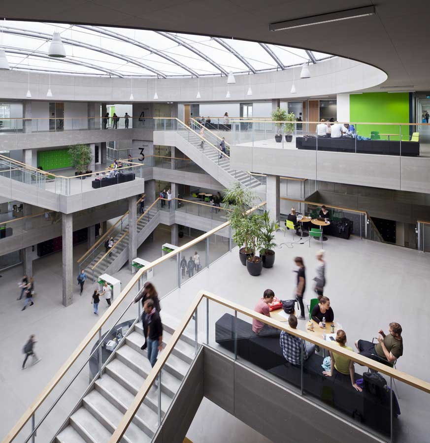 Campus Aarhus N Via University College E Architect