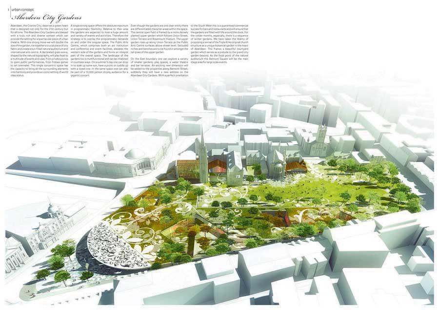 Aberdeen city garden union terrace gardens e architect for City garden designs