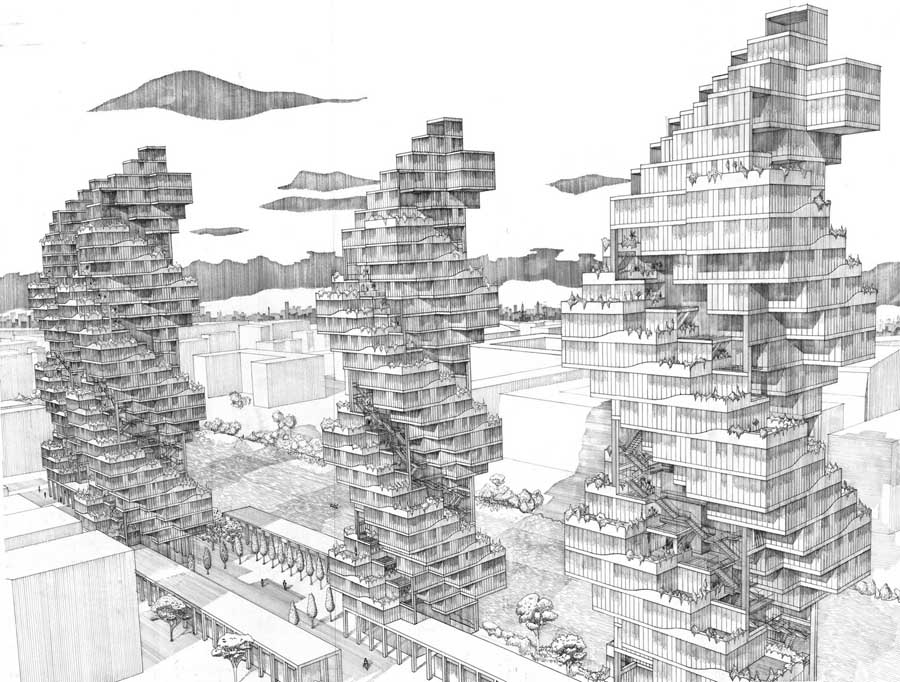 architectural buildings drawings. Scott Sutherland School Of Architecture RGU Aberdeen Earchitect Architectural Buildings Drawings S