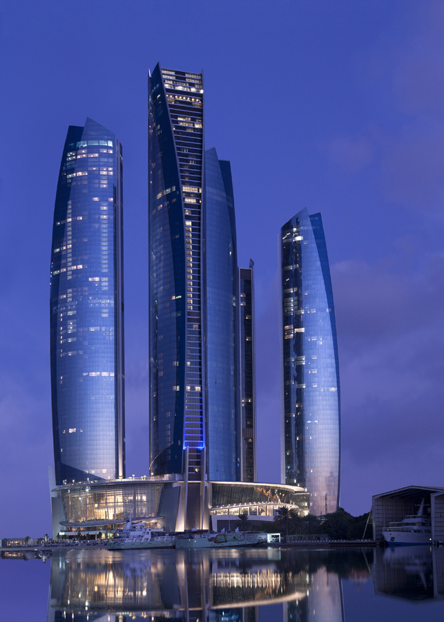 World 39 s tallest residential buildings e architect for Tallest hotel in the world