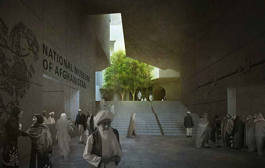 National Museum Of Afghanistan Kabul Building E Architect