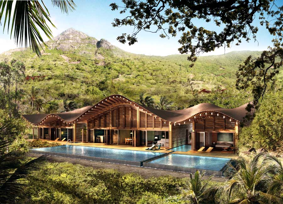 Banyan tree corniche bay mauritius resort e architect for Eco landscape design