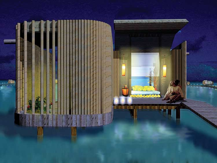 Maldives Resort Design Indian Ocean Building E Architect