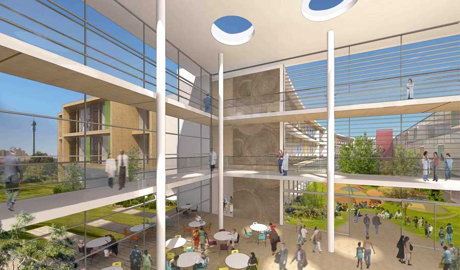 Nelson Mandela Childrens Hospital Africa E Architect