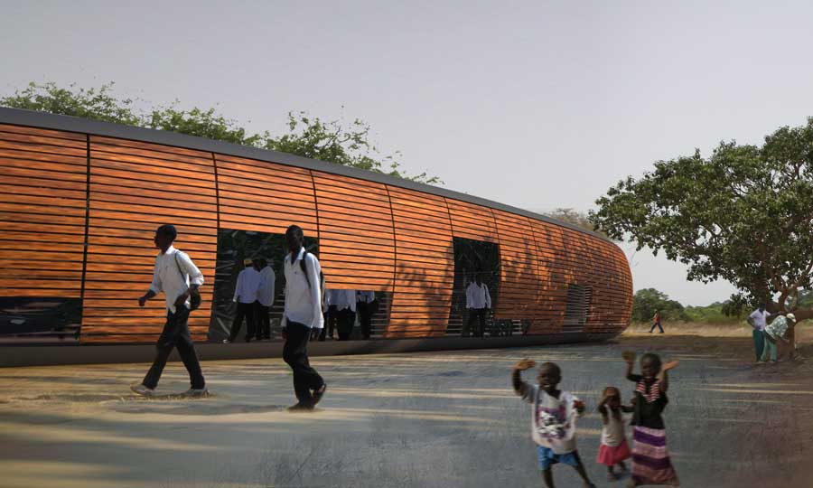 University of The Gambia - Africa Education Building - e-architect