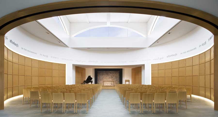 Theology subjects for architecture in college