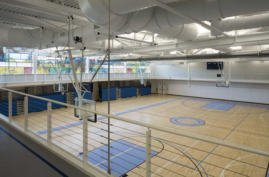 American Express Usa >> Center for Wellness: College of New Rochelle Building - e-architect