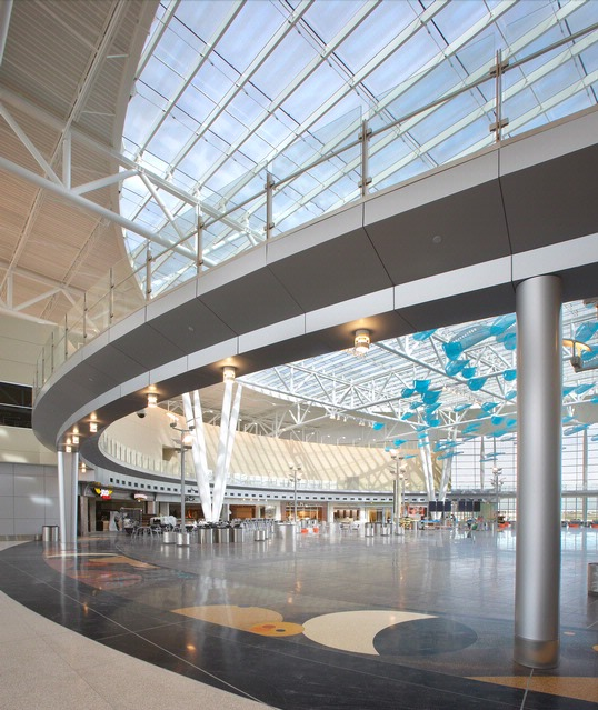 Architects Indianapolis: Indianapolis Airport Terminal Building