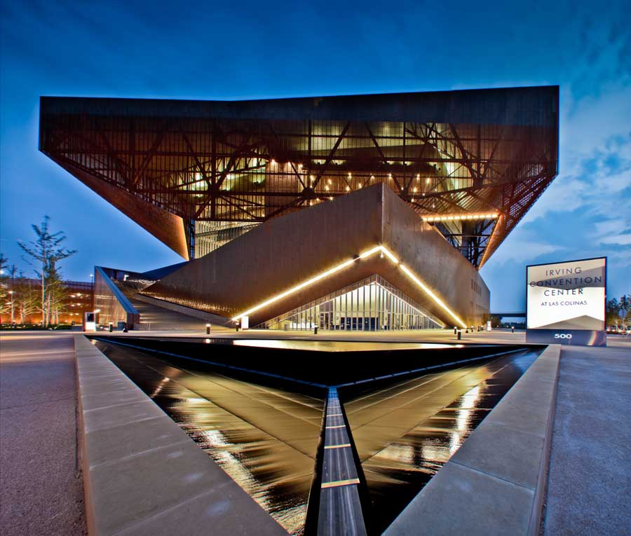 Texan Convention Center Building – design by RMJM Architects