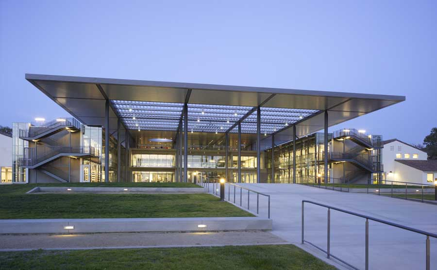 American library buildings usa libraries e architect for Modern library building design
