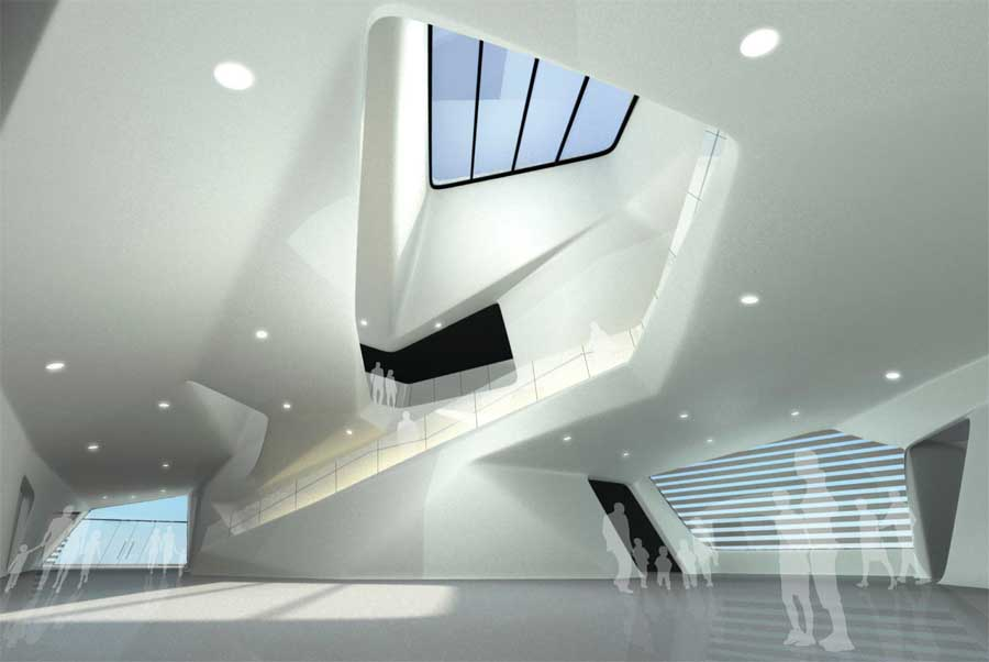 Louisiana state sports hall of fame museum building e for House plans louisiana architects