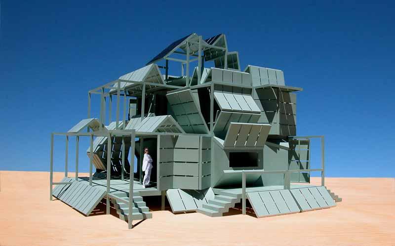 Mhouse  M2 house: Michael Jantzen Residence Design  e