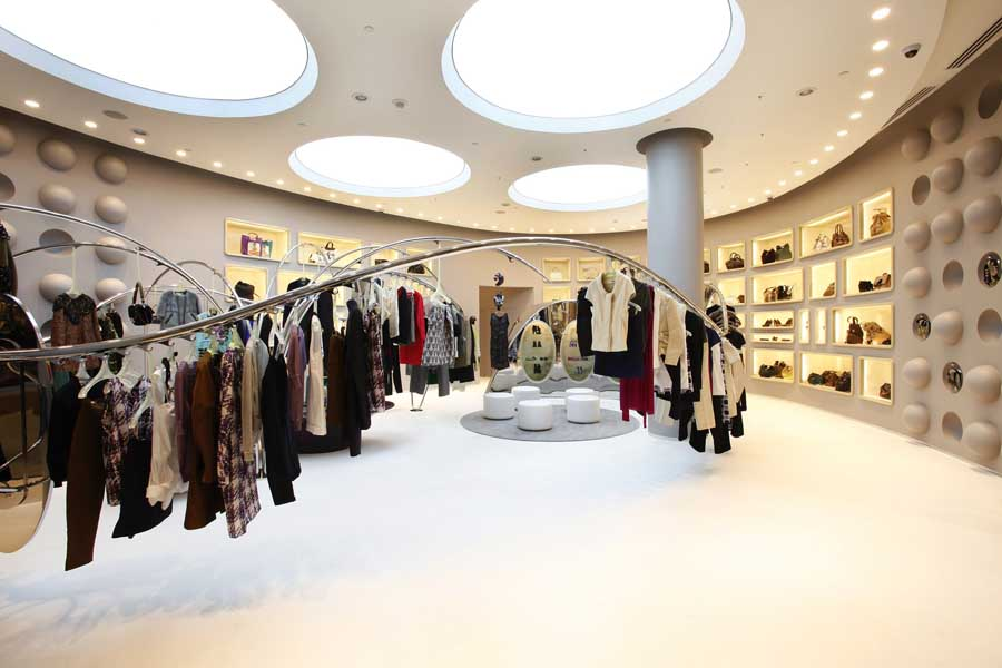 Marni Las Vegas The Crystals Shop Marni Store E Architect