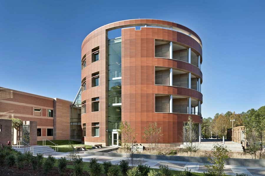 North carolina biotechnology center research triangle for Half round buildings