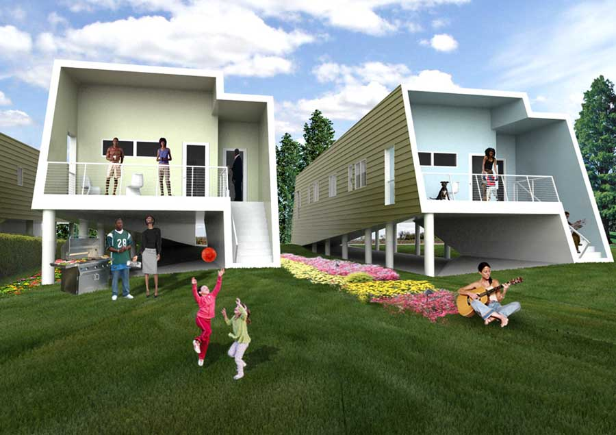 Remarkable New Orleans House Graftlab Designs E Architect Largest Home Design Picture Inspirations Pitcheantrous