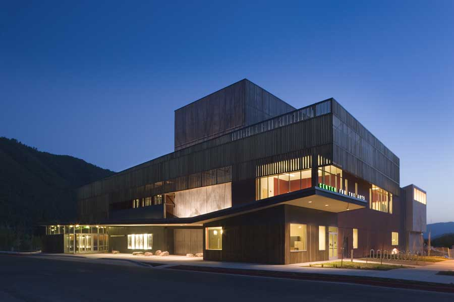 Performing arts hall jackson wyoming building e architect for Architecture art