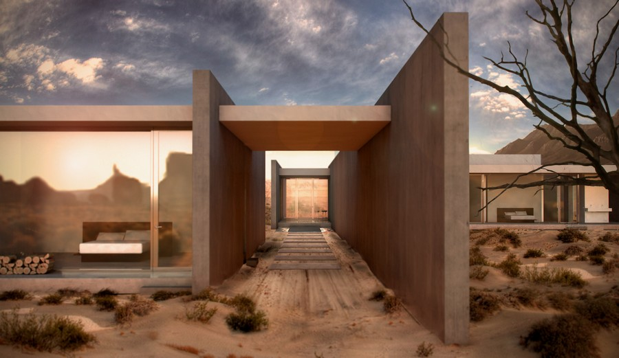 The Phoenix House Arizona Residence E Architect