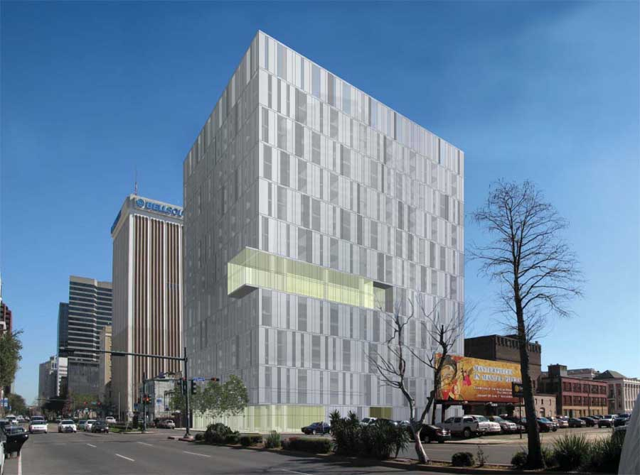 Poydras Residential Tower Building In New Orleans E