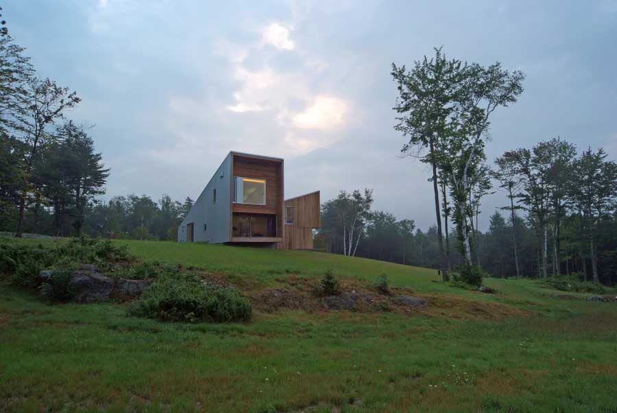 Putney mountain house vermont home e architect for Montain house