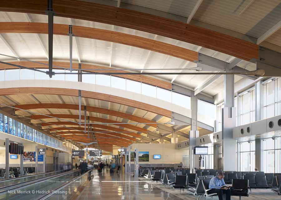 Raleigh Durham International Airport Terminal 2 Building