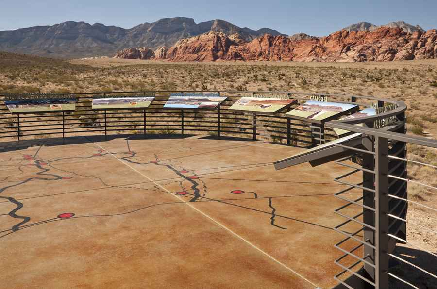Red Rock Canyon Visitor Center Usa E Architect
