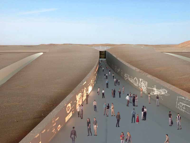 Spaceport america new mexico building usa e architect for New space architects