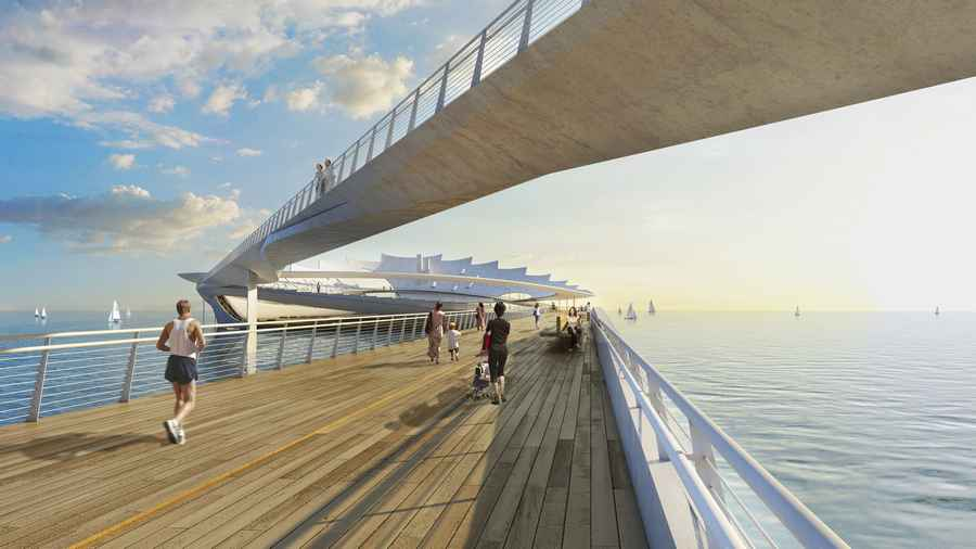 St petersburg pier design contest florida usa e architect for Architect florida