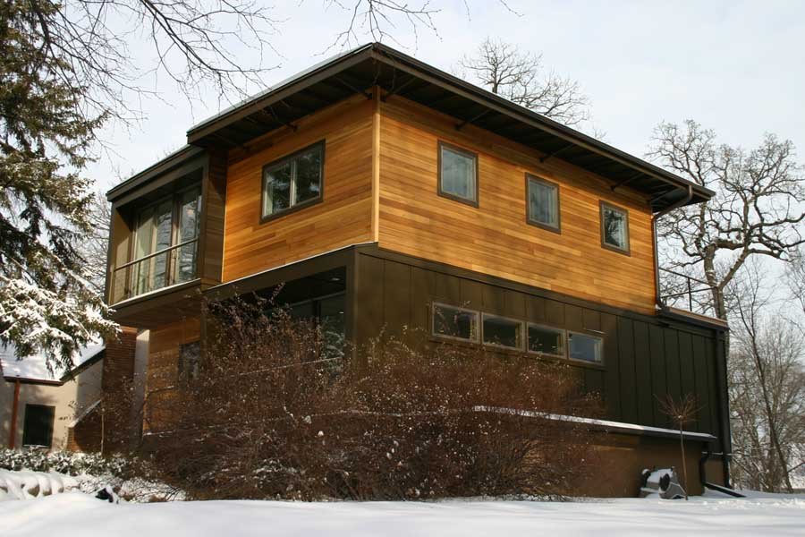 Oeschger weehouse american prefabricated home for Modern prefab homes mn