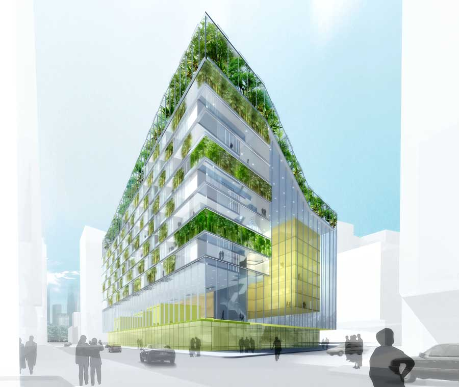 amsterdam office buildings designs e architect