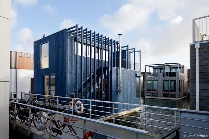 Floating House Ijburg Amsterdam Property E Architect