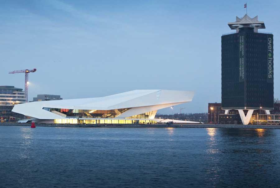 Delugan meissl architects vienna e architect for Architecture firm amsterdam