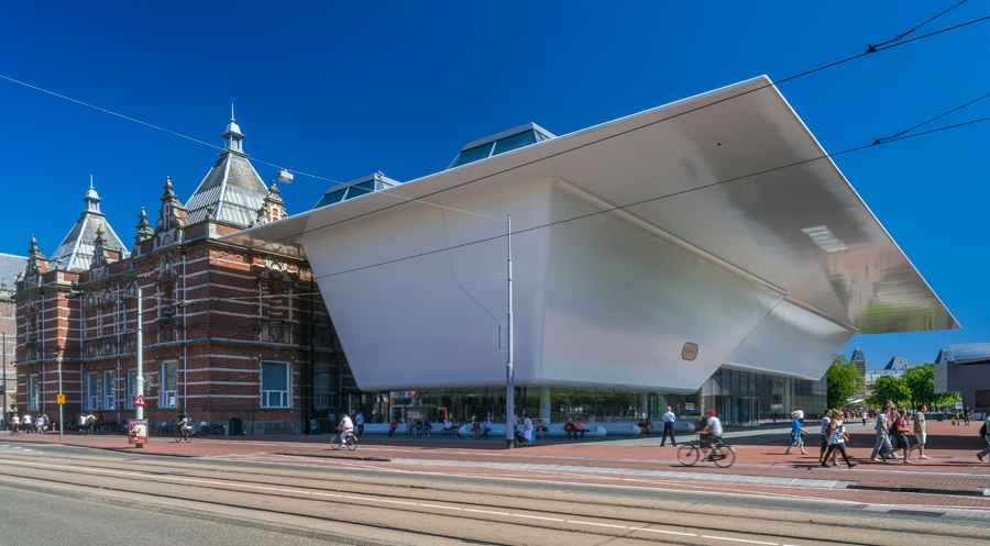 Benthem crouwel architects amsterdam e architect for Museum amsterdam