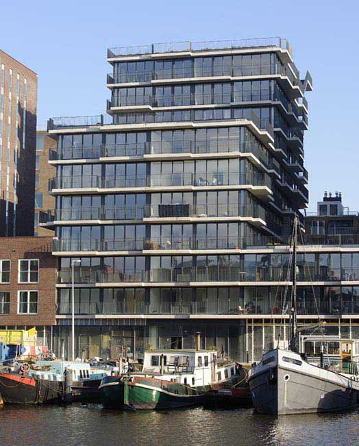Westerdok Apartment Building: Amsterdam Apartments - e ...