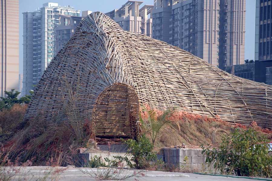 Cicada Taipei City Bamboo Structure Taiwan E Architect