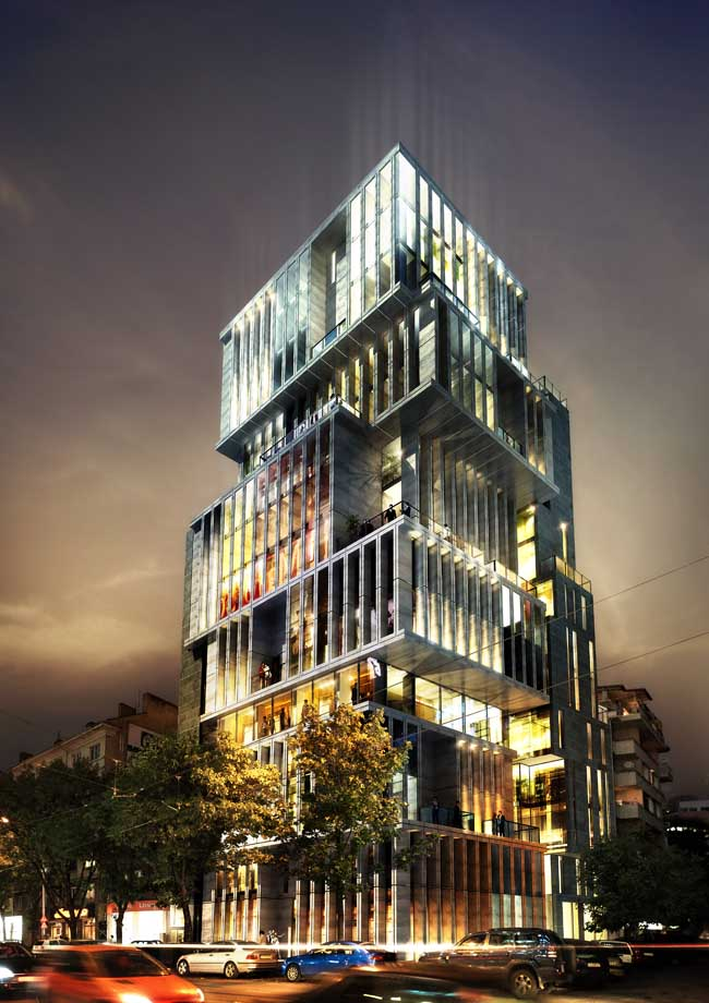 Red Apple Residential Building, Bulgaria