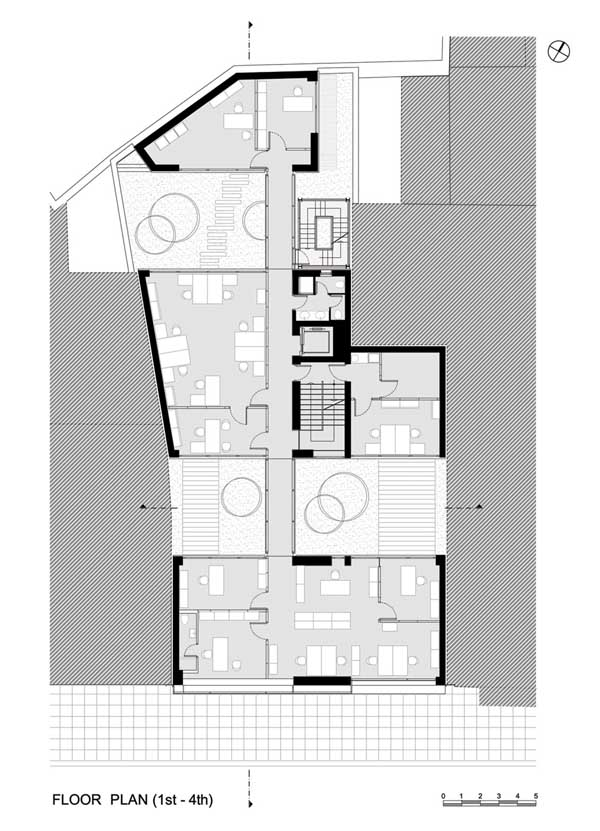 Bar Refaeli Buzz Office Building Floor Plans