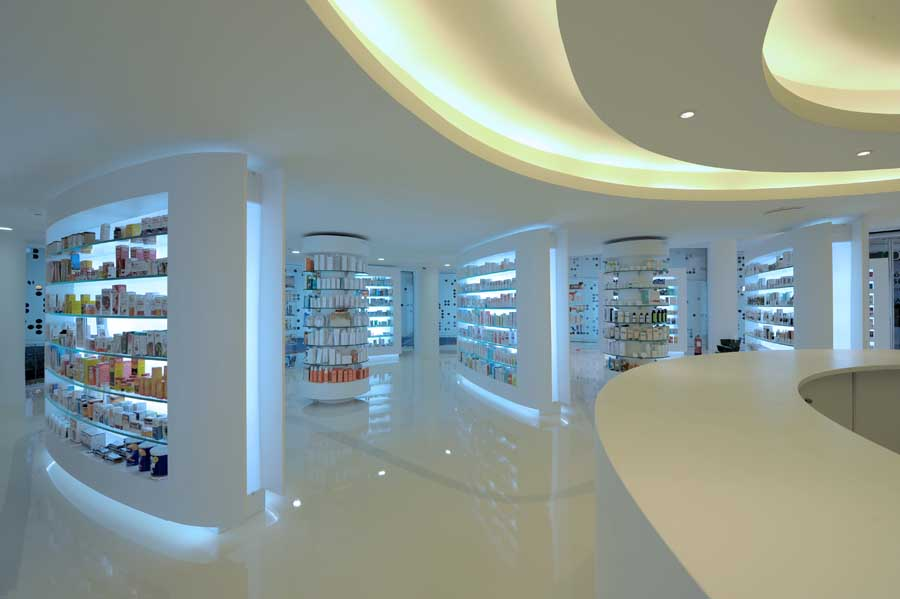 Placebo Pharmacy Glyfada Building Athens Interior E