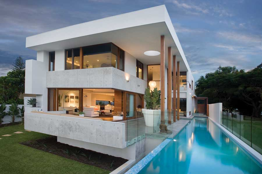 a house designer on holiday sunshine coast house design design my house Design: BGD Architects Amalfi Residence