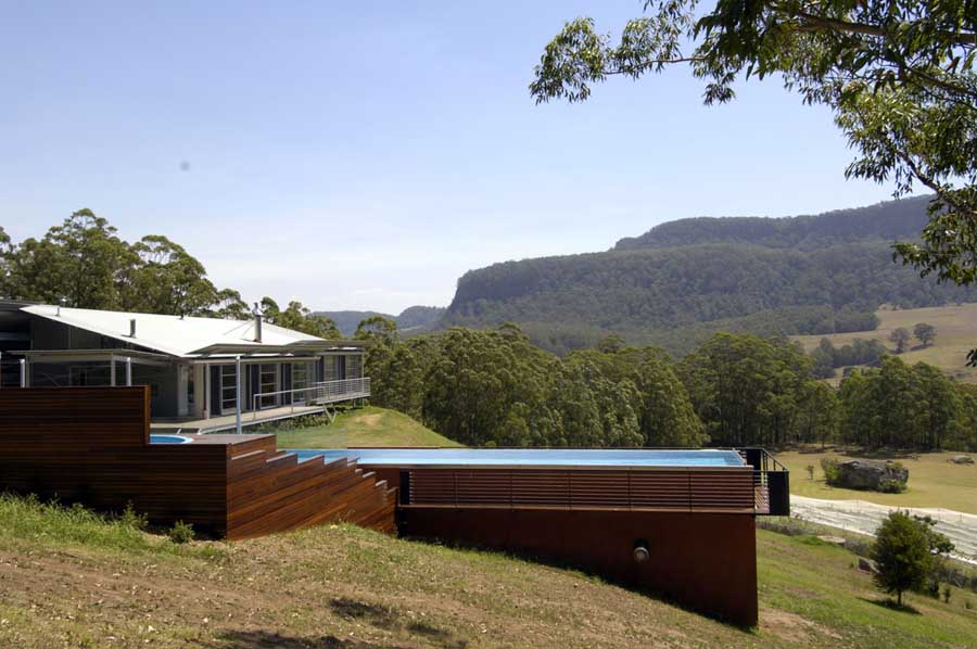 big rock house kangaroo valley house nsw home earchitect