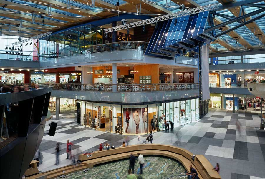 Atrio Villach Austrian Shopping Center E architect