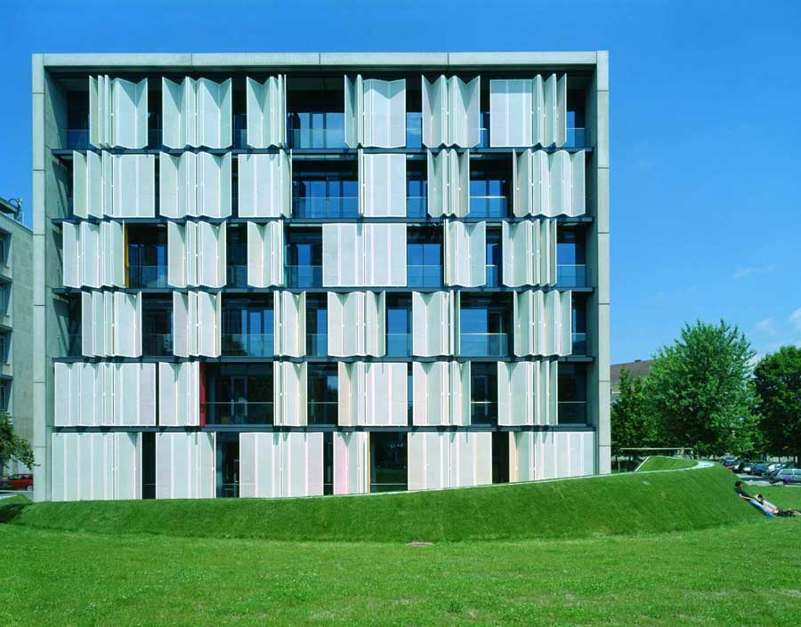Technical university graz biokatalyse graz austria e Folding facade