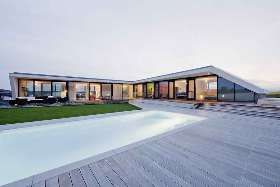 L House Residence In Burgenland Austrian Rural Property E Architect