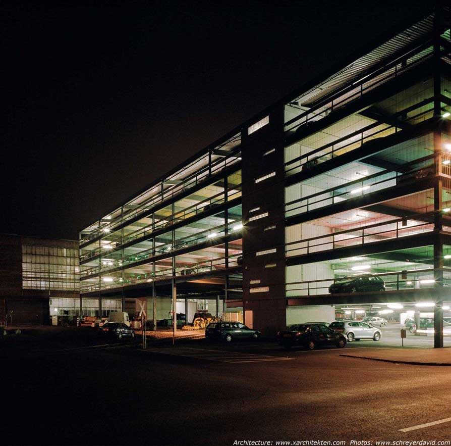 Multi Level Parking Voestalpine Linz Building E Architect