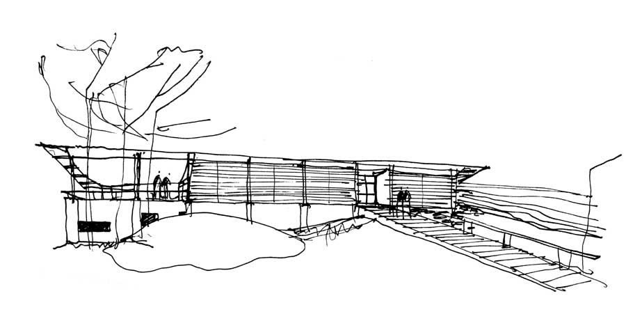 simple architectural sketches.  Architectural SimpsonLee House Intended Simple Architectural Sketches