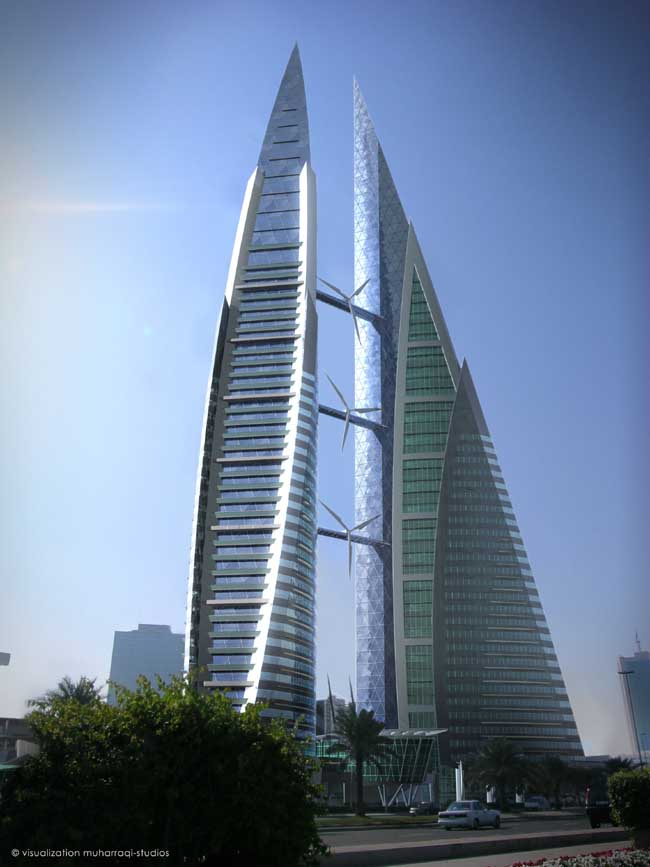 Bahrain World Trade Center Manama Bwtc E Architect