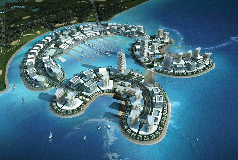 Durrat Al Bahrain Development E Architect