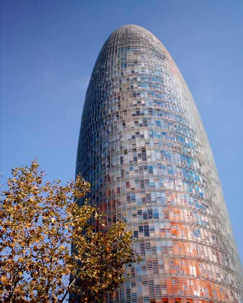 Torre Agbar Jean Nouvel Barcelona Agbar Tower E Architect