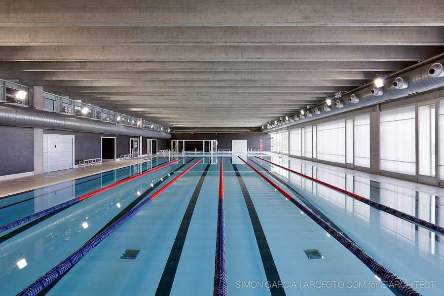 Ametlla de mar catalan swimming pool municipio de la for Pool ventilation design