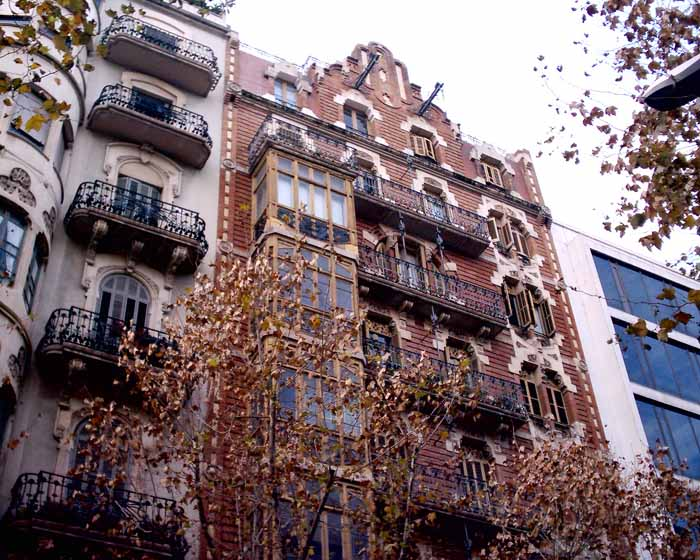 Architecture In Barcelona Catalan Buildings